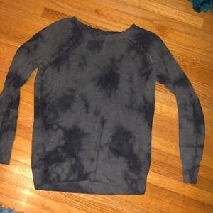 AE tie dyed sweater